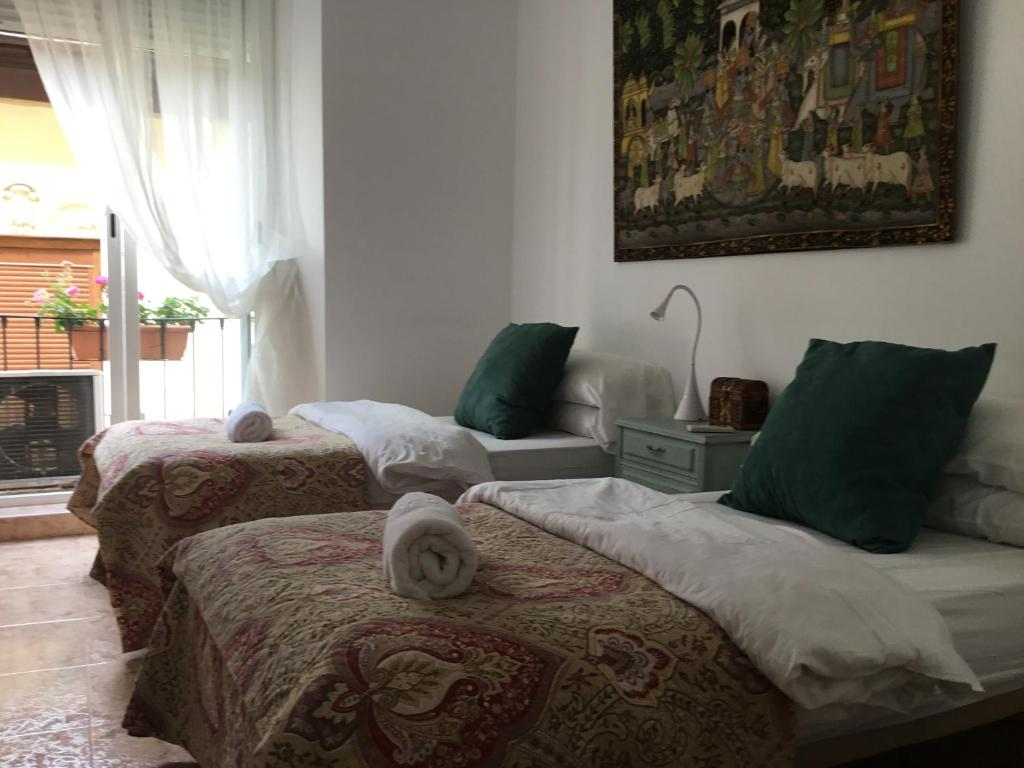 Twin Room with Balcony San Jose Guest House