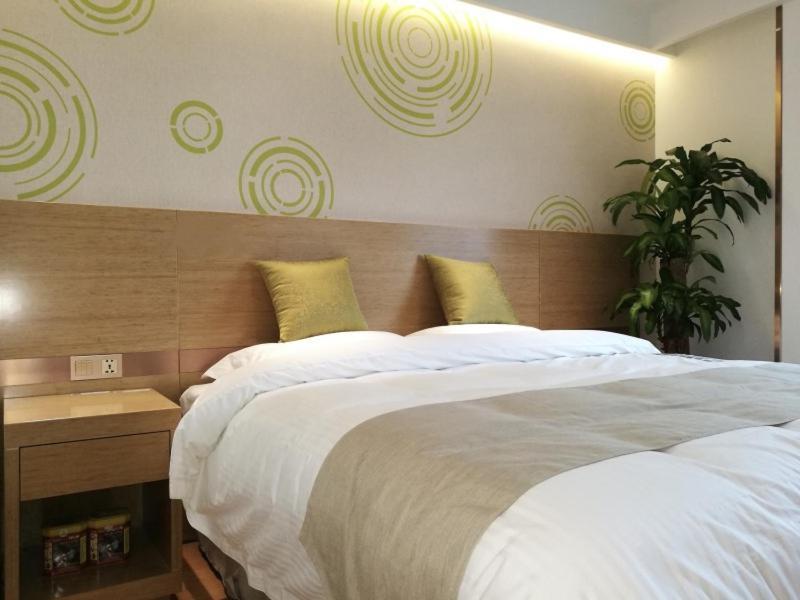 GreenTree Inn Shanghai Jingan District Qipu Road Tiantong Road Subway Station Express Hotel
