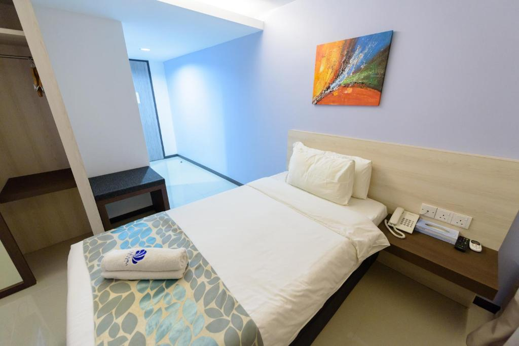 Single Room Samudra Hotel Kuching