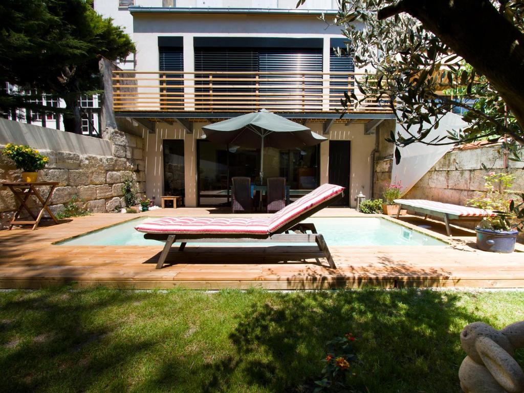 villa saint genes chambres et table d 39 h tes bordeaux informationen und buchungen online. Black Bedroom Furniture Sets. Home Design Ideas