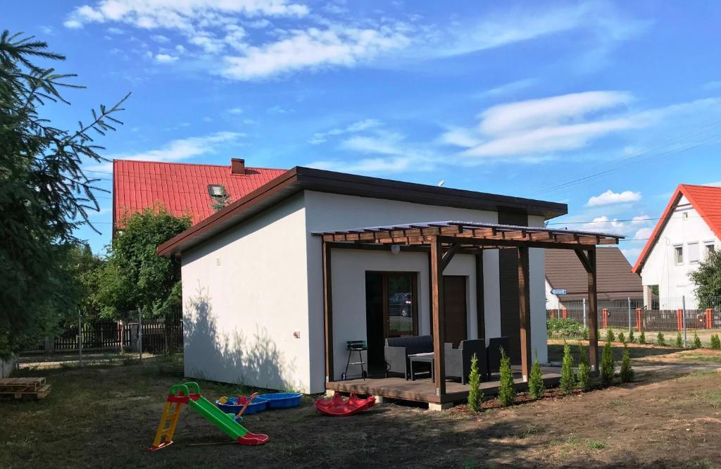 noclegi Wilkasy Modern House Brzozowa