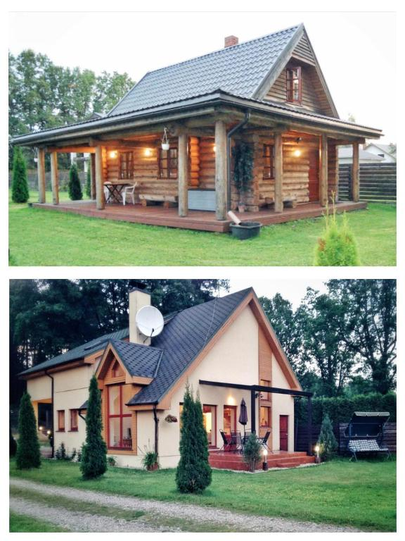 Forest Edge Lodge and House