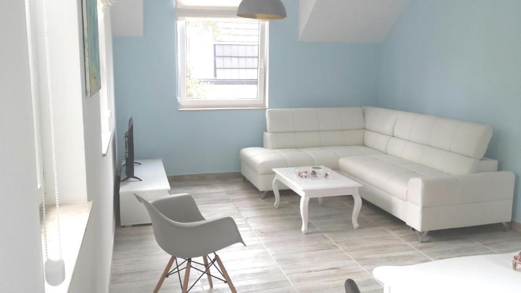 noclegi Łukęcin Nadmorski apartament z ogrodem