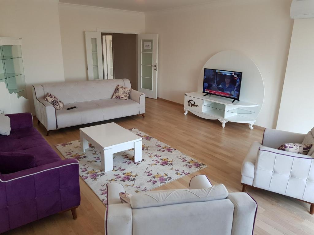 Almina Trabzon - 3+1 Purple Apartment
