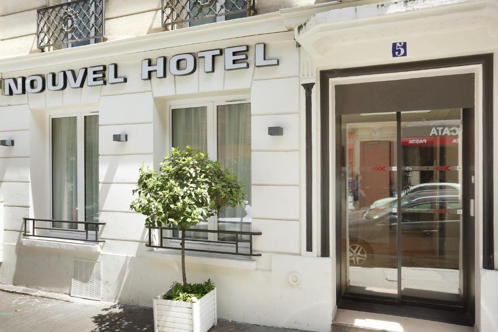 Nouvel Hotel Eiffel  Rue Des Volontaires  Paris France