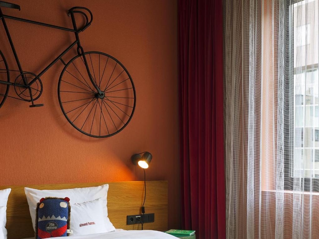 25hours hotel the trip frankfurt am main informationen und buchungen online viamichelin. Black Bedroom Furniture Sets. Home Design Ideas