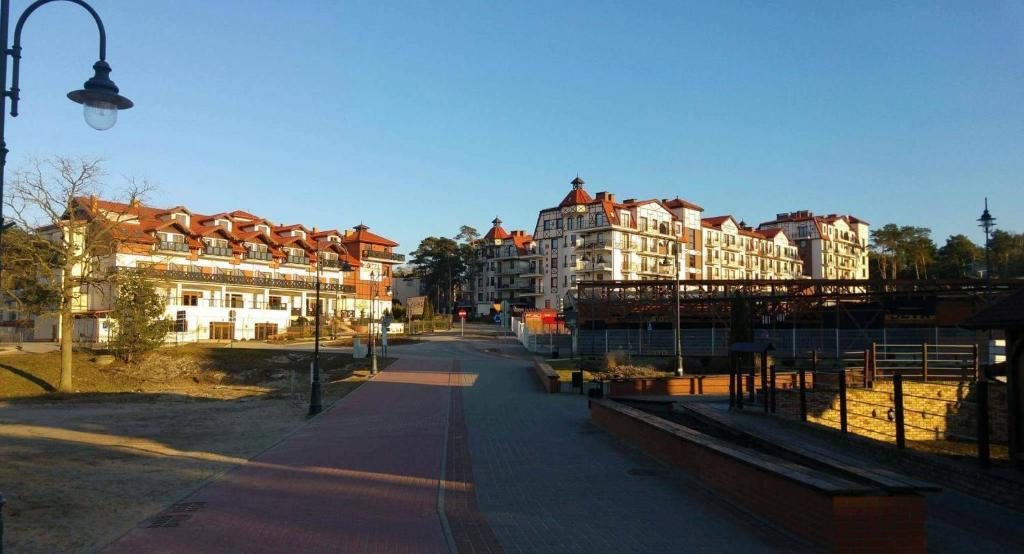 noclegi Krynica Morska Continental Apartament przy plazy