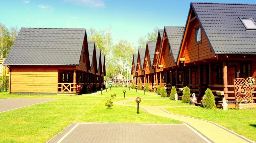 noclegi Bobolin Ferienhäuser RAJ - STAR - BOBOLIN