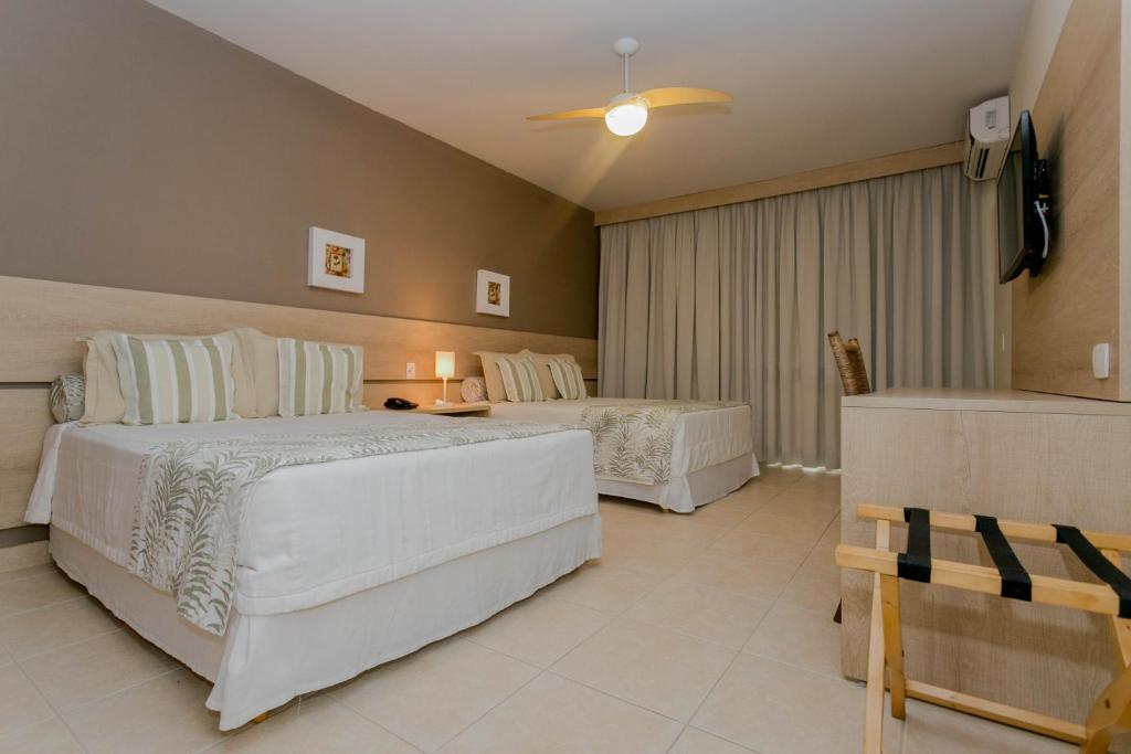 Double Room with Partial Sea View - Windsurf Beach Hotel Juquehy