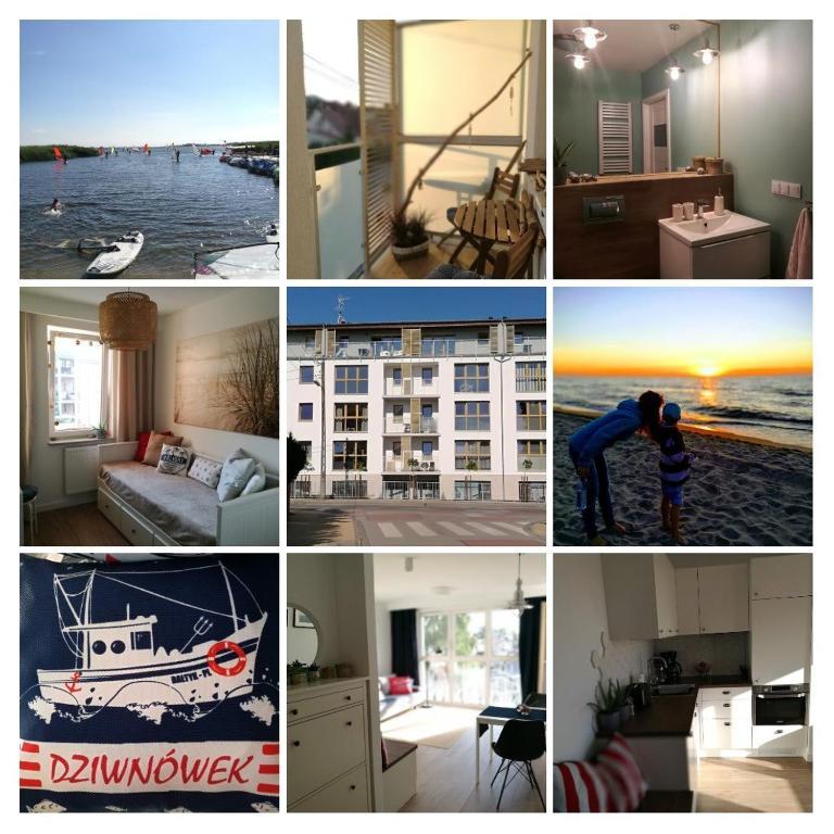 noclegi Dziwnówek Apartament Marine 9b