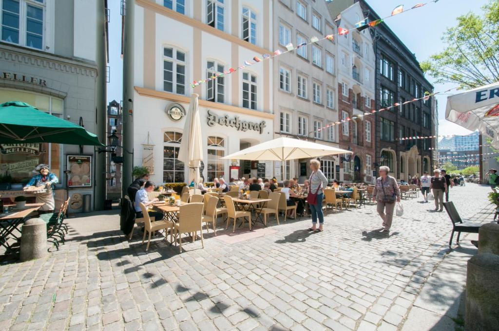 Appartements in der Hamburger Altstadt contactless Check in