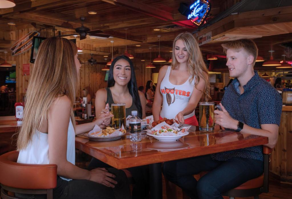 Book Now Hooters Casino Hotel (Las Vegas, United States). Rooms Available for all budgets. Featuring a 30000 square foot casino 550 slot and video poker machines and 26 table games the Hooters Casino Hotel is 5 minutes' walk to the Las Vegas Strip. There are also 2