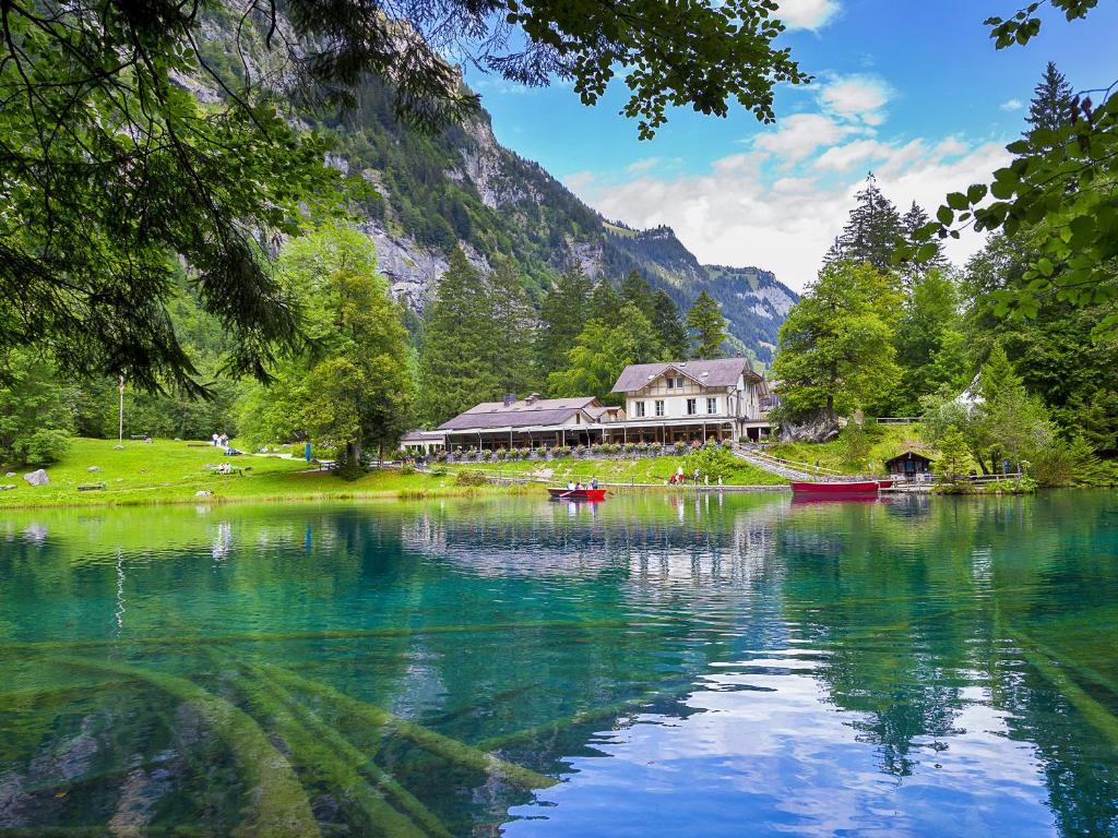 Hotel Blausee Frutigen Book Your Hotel With Viamichelin