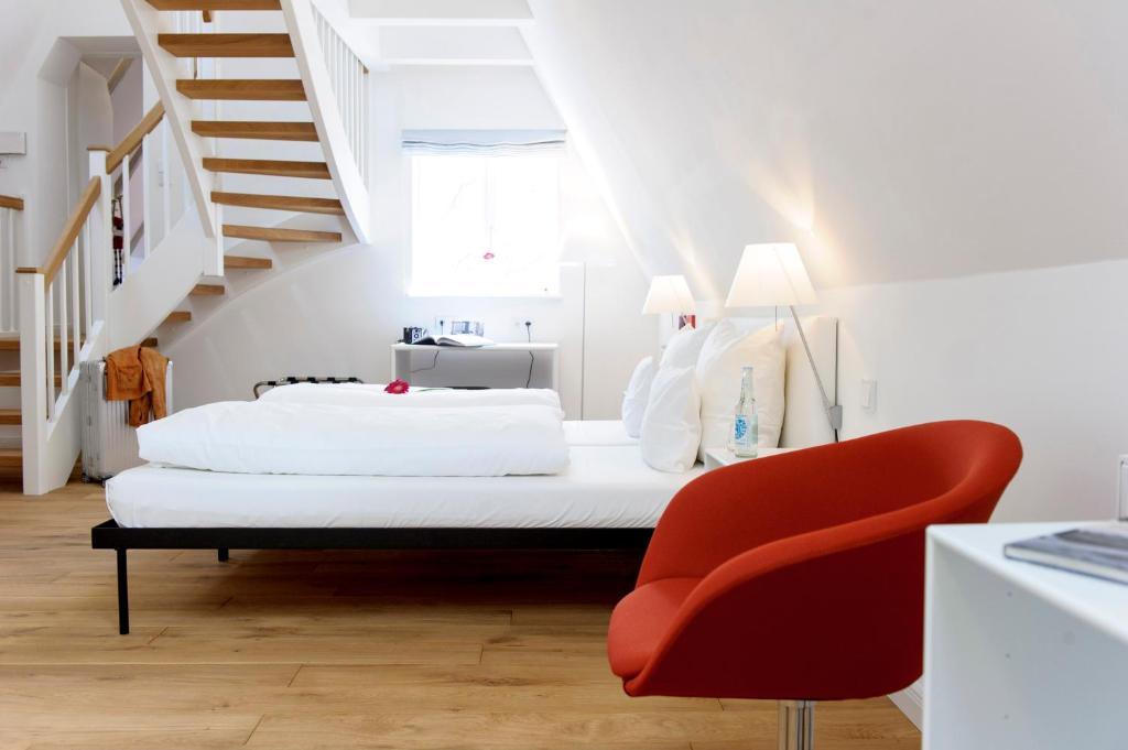 einzigartig das kleine hotel im wasserviertel r servation gratuite sur viamichelin. Black Bedroom Furniture Sets. Home Design Ideas