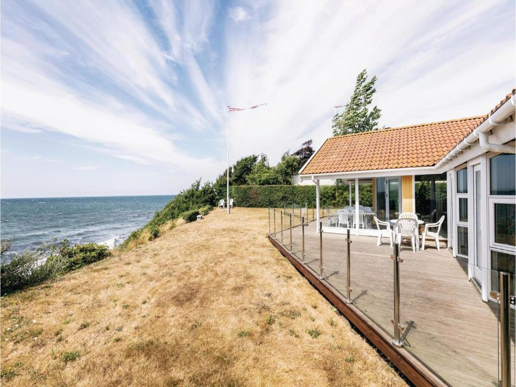 Four-Bedroom Holiday Home in Ronne