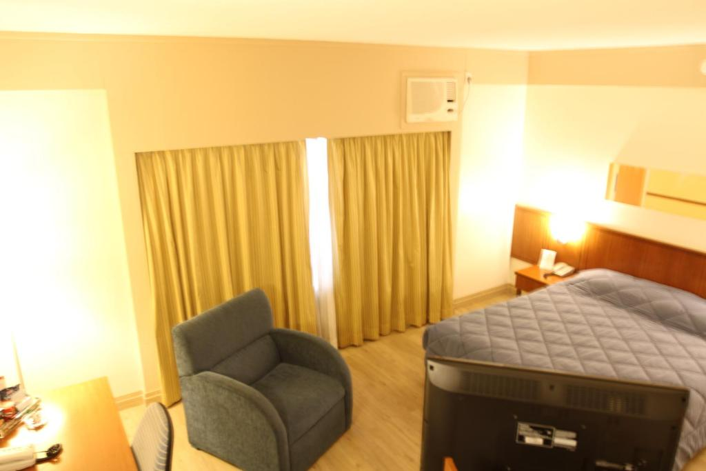 Double Room Travel Inn Live & Lodge Ibirapuera Flat Hotel