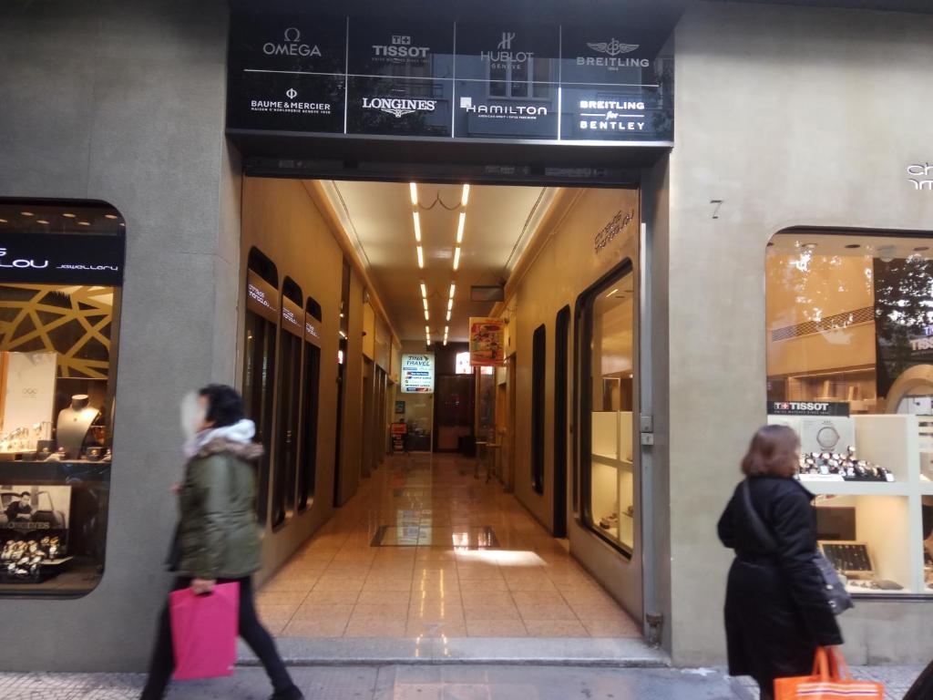 TONI'S Studio Syntagma, 1 min from Metro station, 105 63 Athen