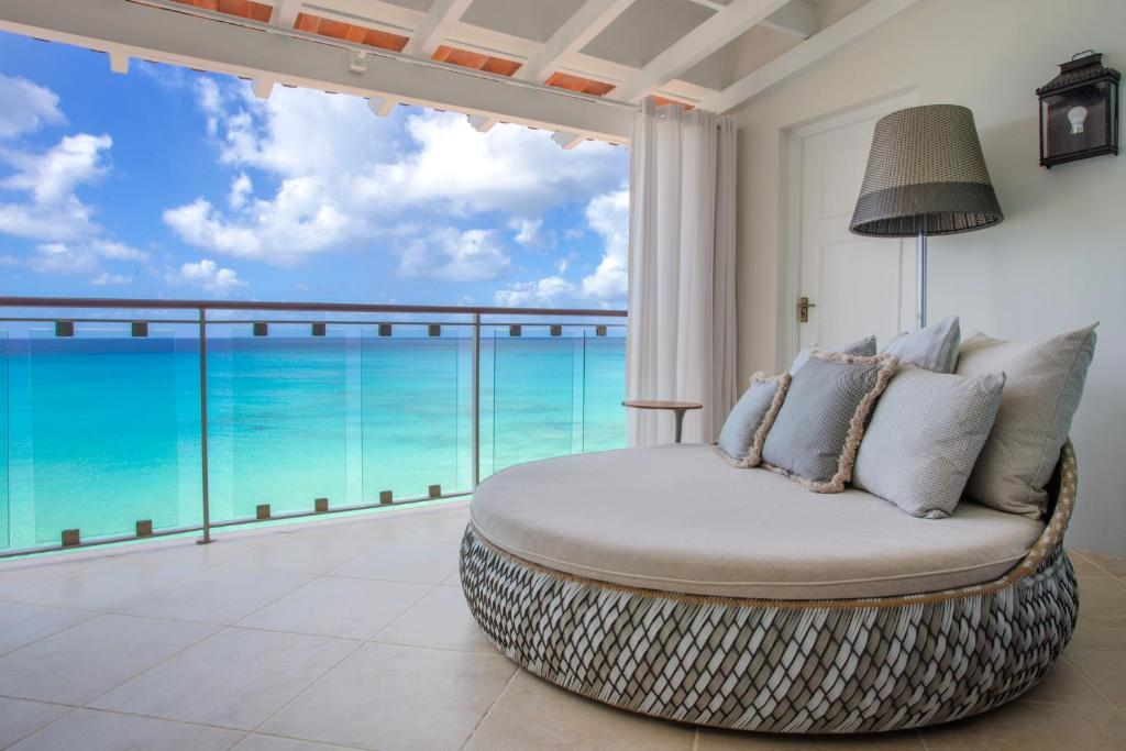 Signature King Room Ocean Front Fairmont Royal Pavilion Barbados Resort