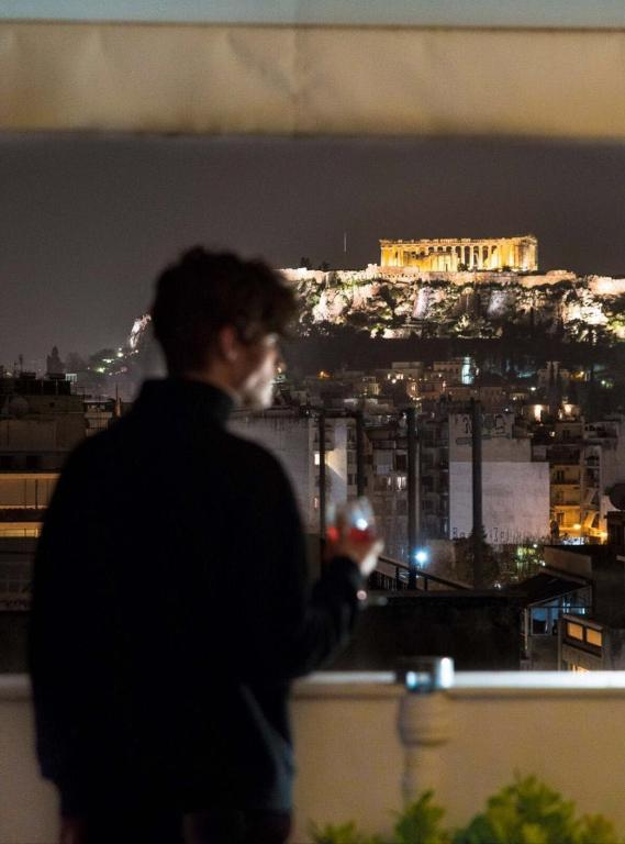 Amazing view of Acropolis from Amazing Apartment