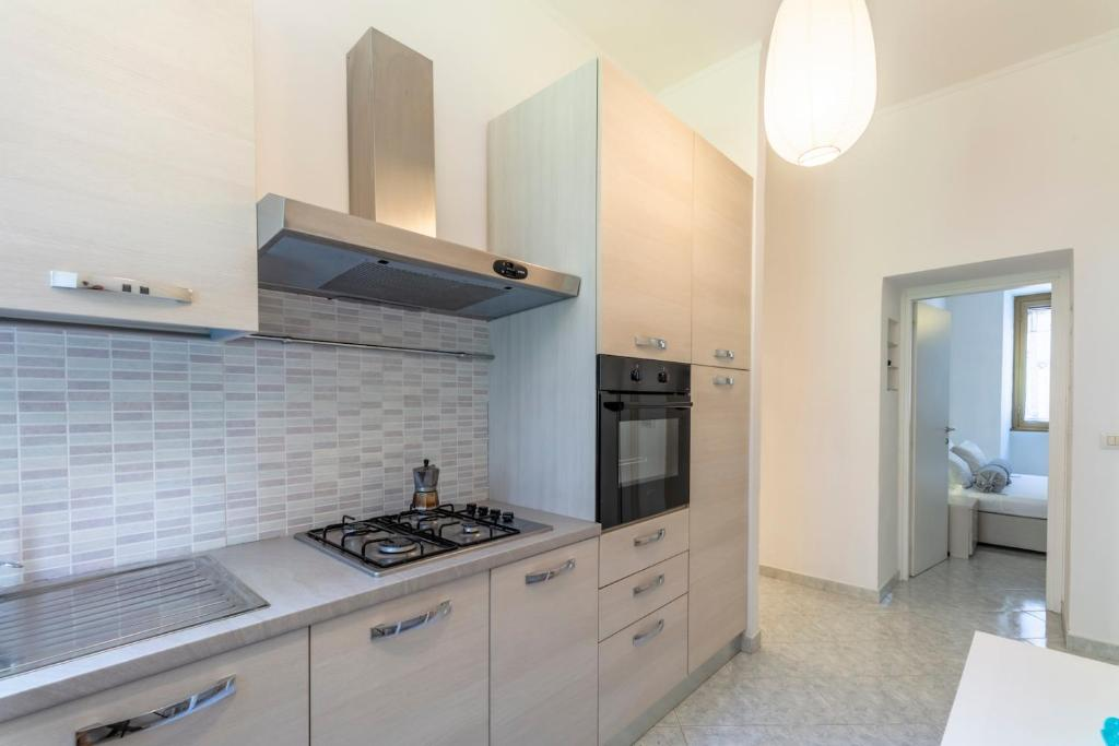 Апартаменти з 1 спальнею by ViaRomolo: Lovely and bright flat near Trastevere