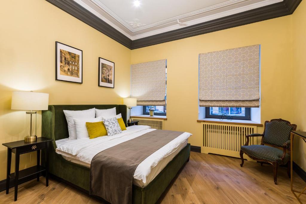 D apartments у Эрмитажа