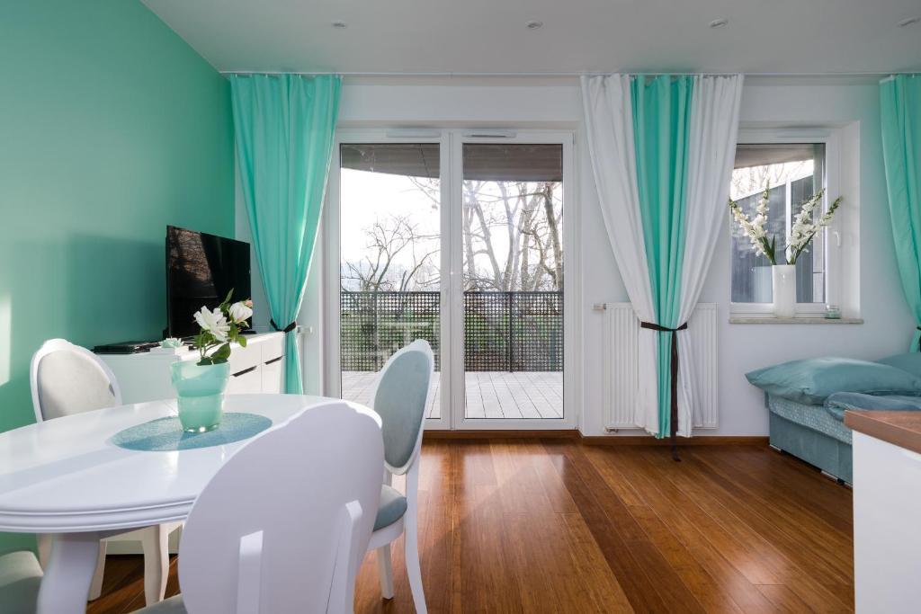 noclegi Kraków Green River Apartment
