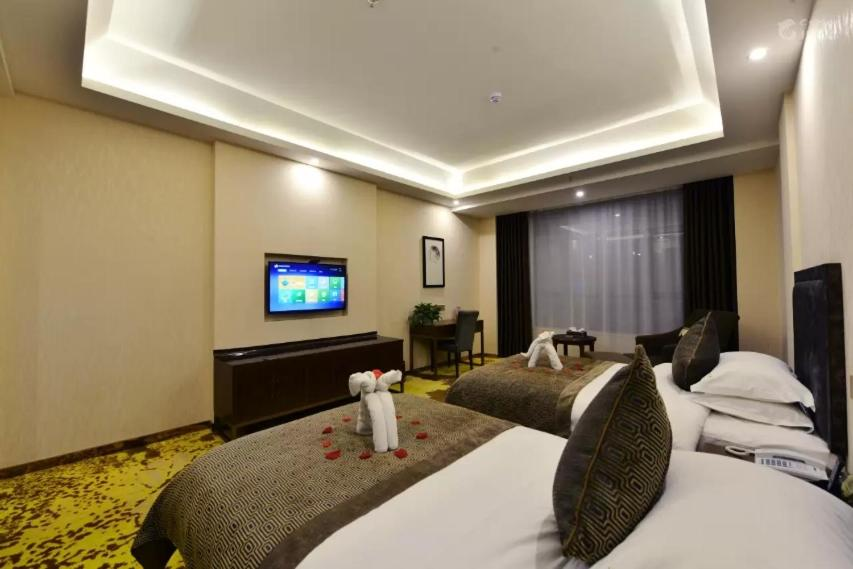 Twin Room Dunhuang Dasheng Vacation Hotel