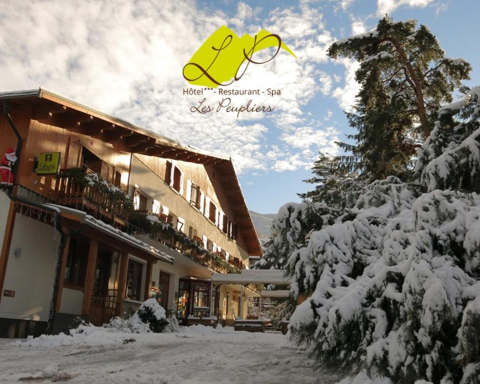 Hotel Restaurant Spa Les Peupliers Embrun Viamichelin