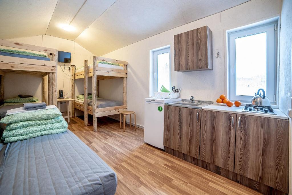 Greenland Apartments с мангальной зоной на природе в Выборге