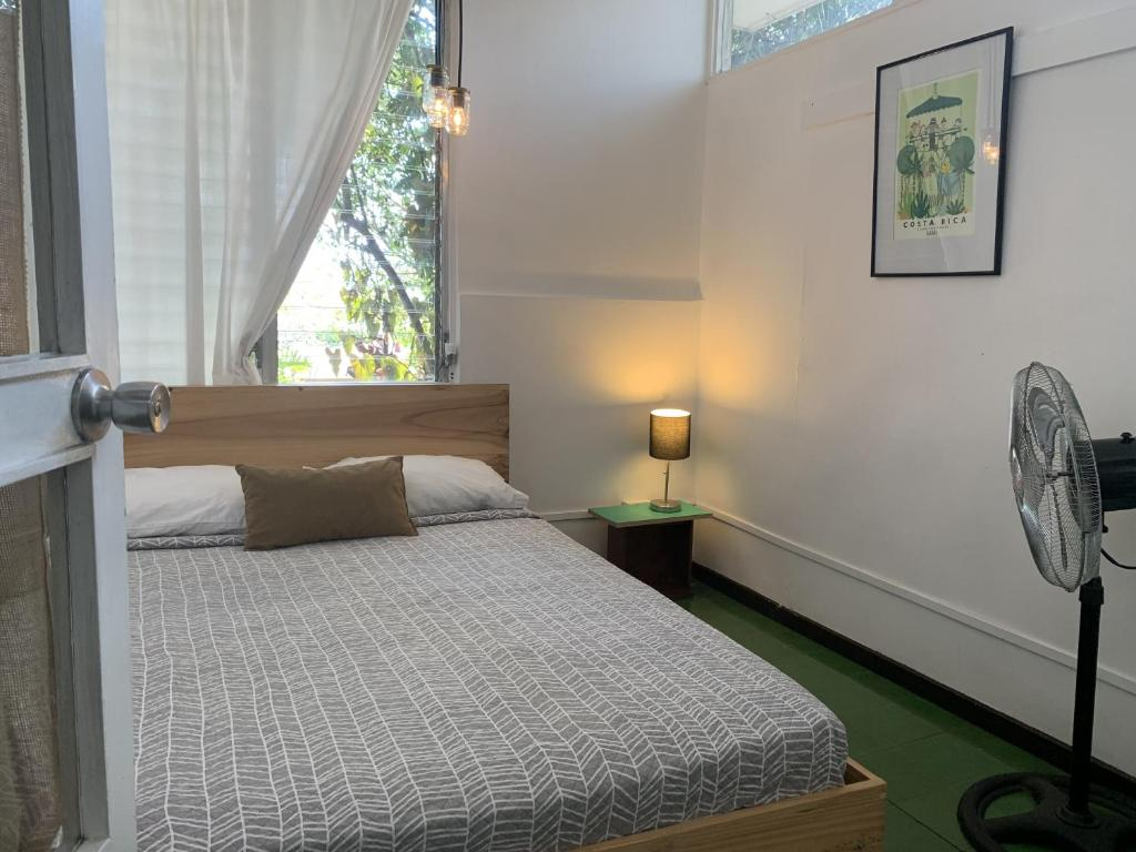 Double Room with Garden View Hostel Urbano