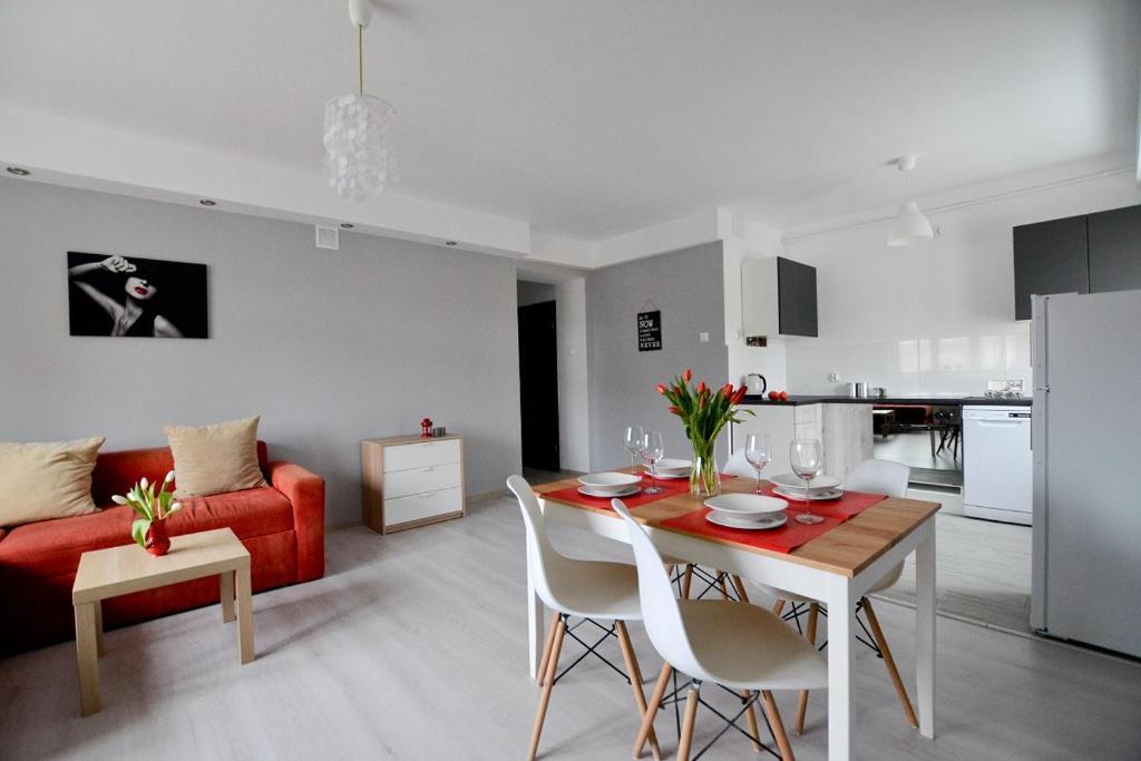 noclegi Olsztyn Few Steps Apartment
