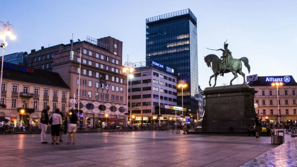 Zagreb center near main square