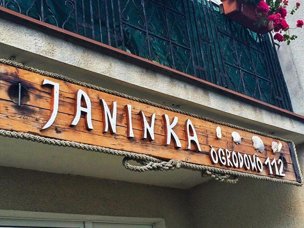 noclegi Jastarnia Pokoje i Domki Gościnne Janinka