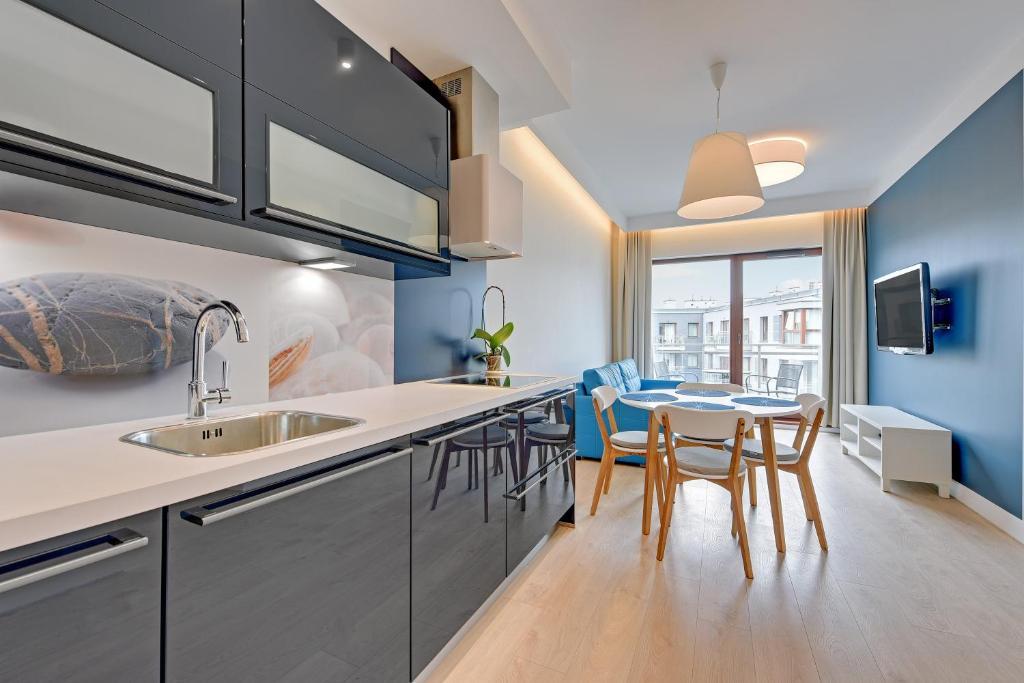 noclegi Gdańsk Blue One Apartment