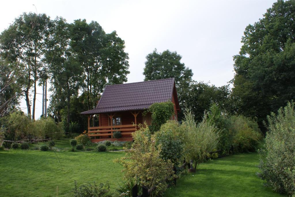 noclegi Darłowo Domki w ogrodach Magra - morze wieś cisza