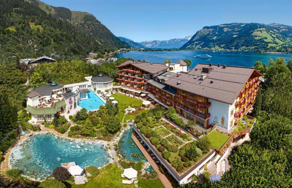 цветочек, красивые курортные отели австрии фото милых деталей