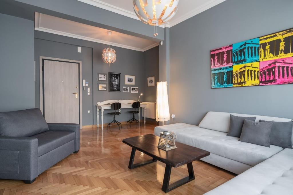 Modern & Stylish Apt at the Heart of Athens