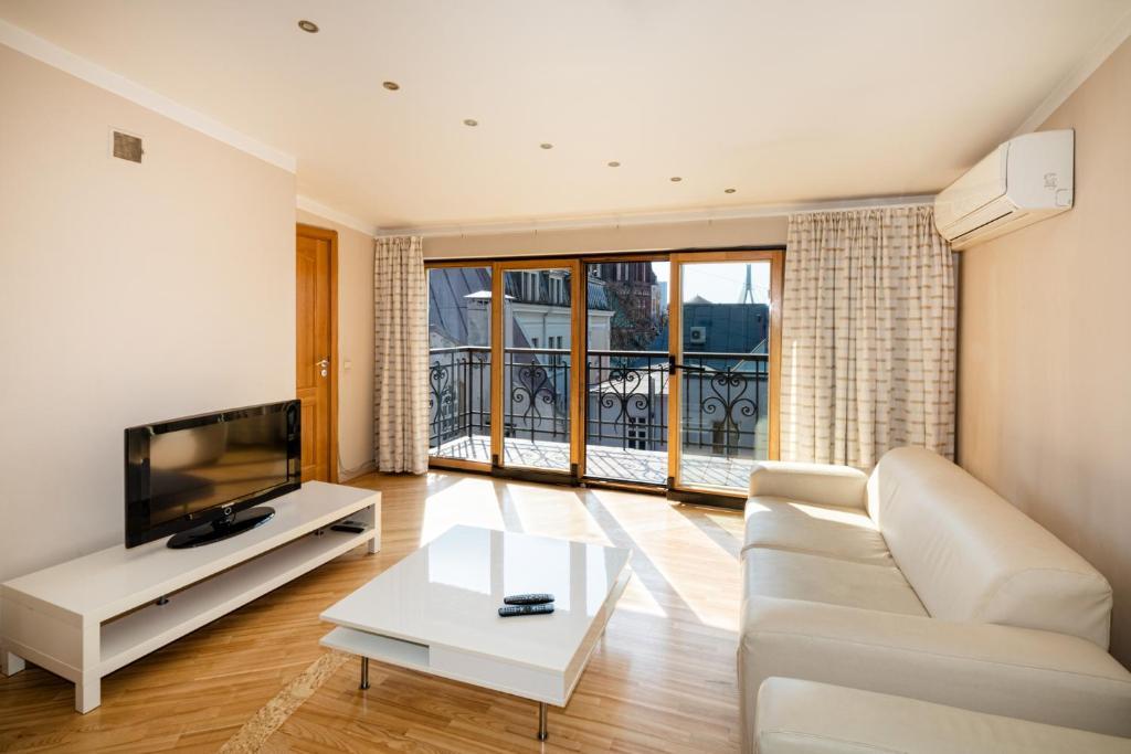 Old Riga Aldaru street 2 Level Apartment With Terrace