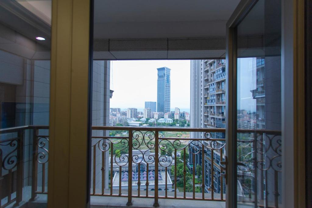 Apartamento con vistas al mar Xiamen Muyun Seaview Business Apartment
