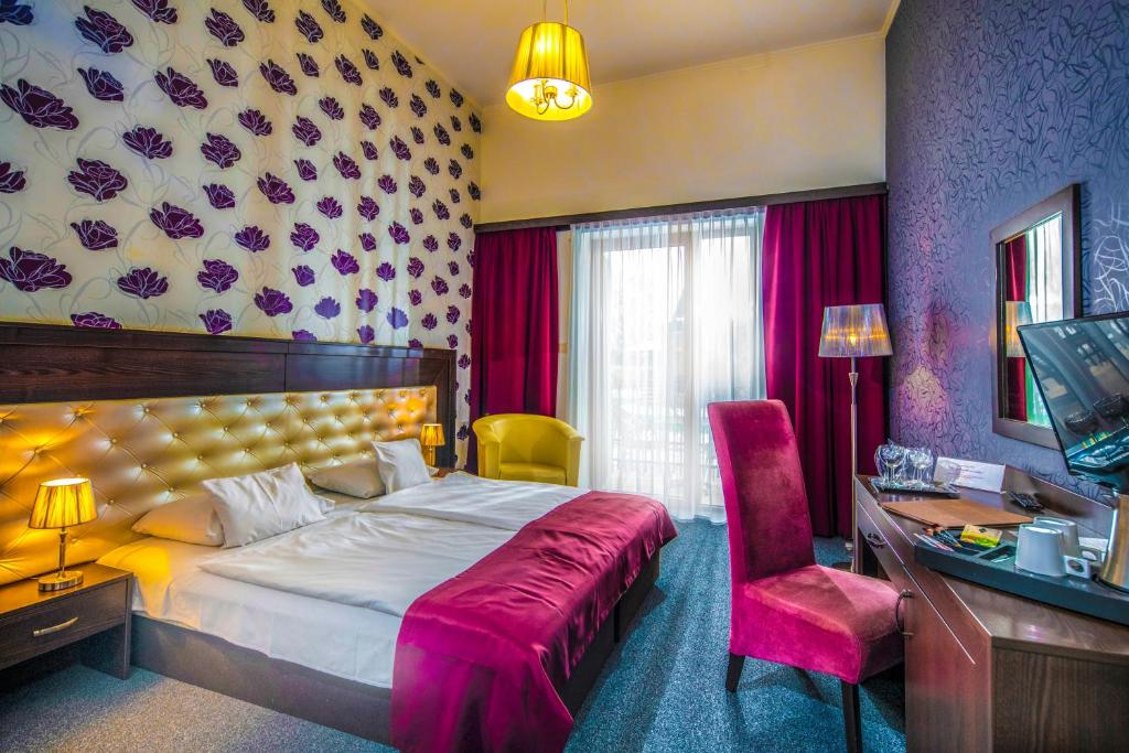 Double or Twin Room with Garden View Hotel Du Lac