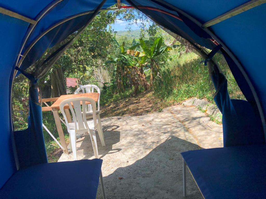 Tent Camping National Park close to Beach