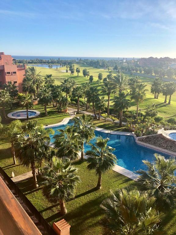 Piscina Con Jacuzzi.Atico Playa Granada Golf Piscina Con Jacuzzi Motril