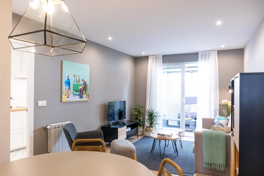 Apartamento De Diseño Con Terraza Espectacular En Barrio De