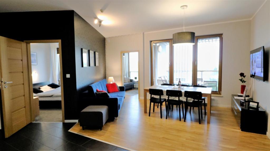 noclegi Kołobrzeg Apartament Olympic Park z 3 Sypialniami Deluxe
