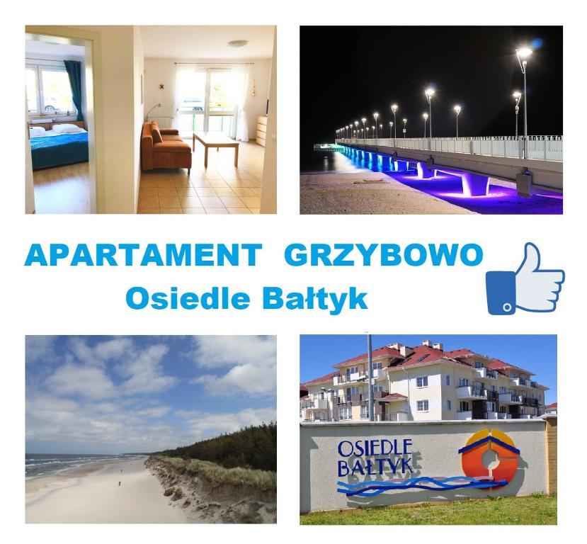 noclegi Grzybowo Apartament Osiedle Bałtyk Grzybowo