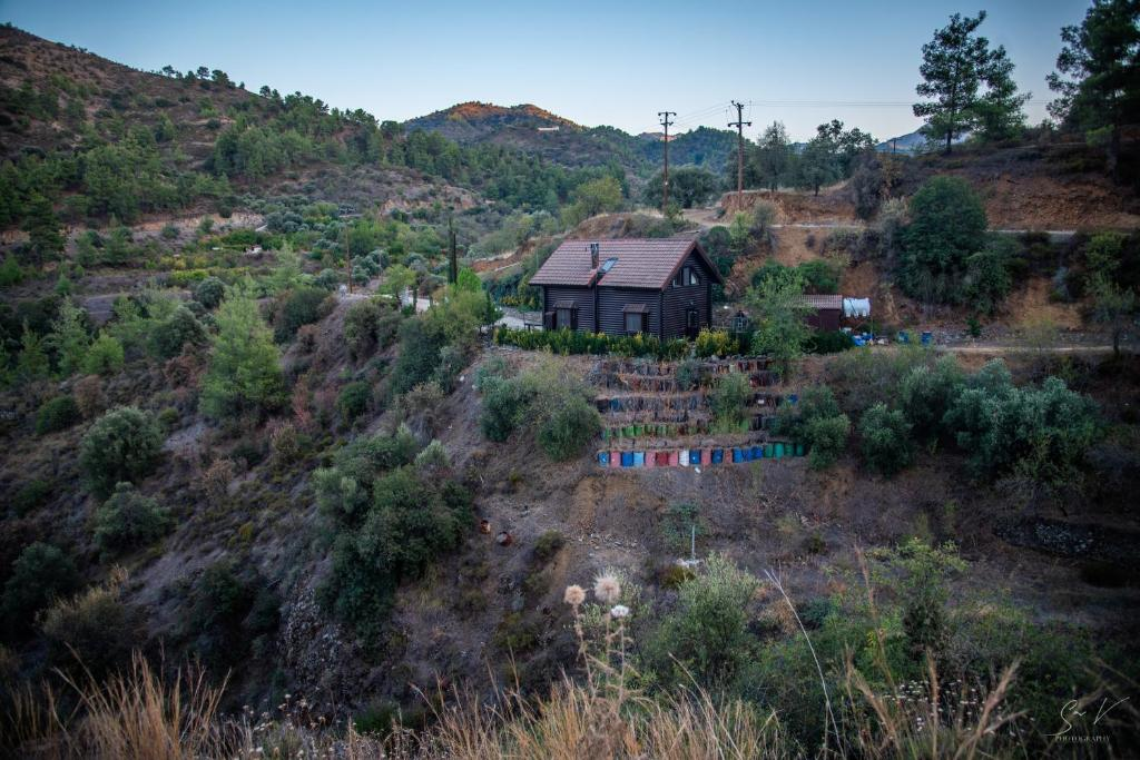 *2 bdr log house /mountains/Queen bed/fireplace