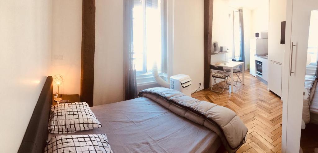M: studio en plein centre de Lyon