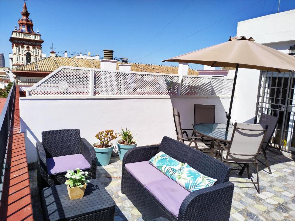 Charming Terrace Sevilla