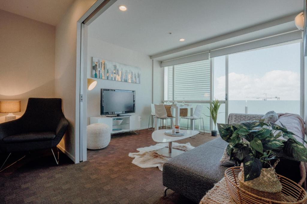 Spectacular views, 2 bedroom at the Quadrant hotel