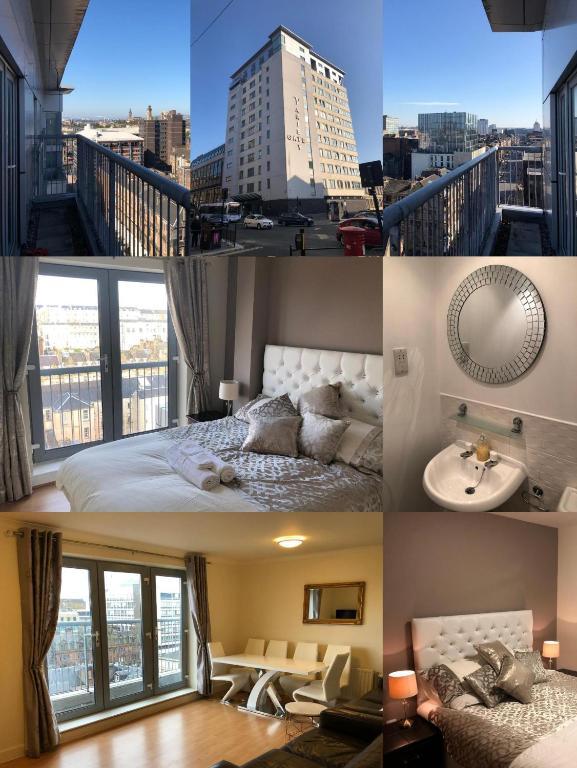 Penthouse 3 Bedroom Luxury Apartment - Bath Street - Glasgow City Centre